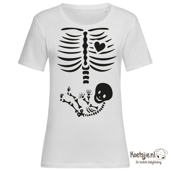 Baby Skelet Dames T-shirt